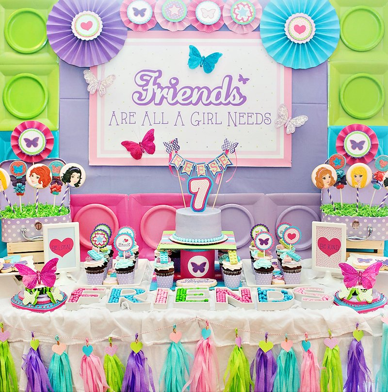 A charming amp girly lego friends birthday party hostess