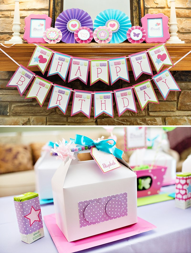 A Charming Girly Lego Friends Birthday Party Hostess With The
