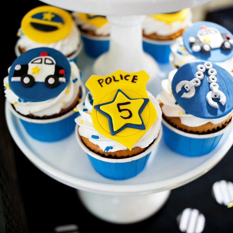 policeman party ideas