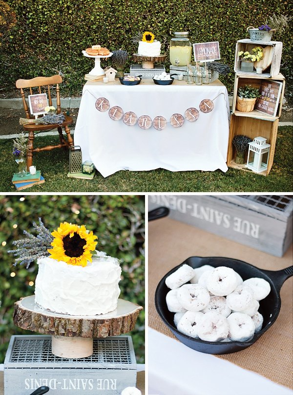 Rustic Tangled Inspired 21st Birthday Party Hostess with the Mostess