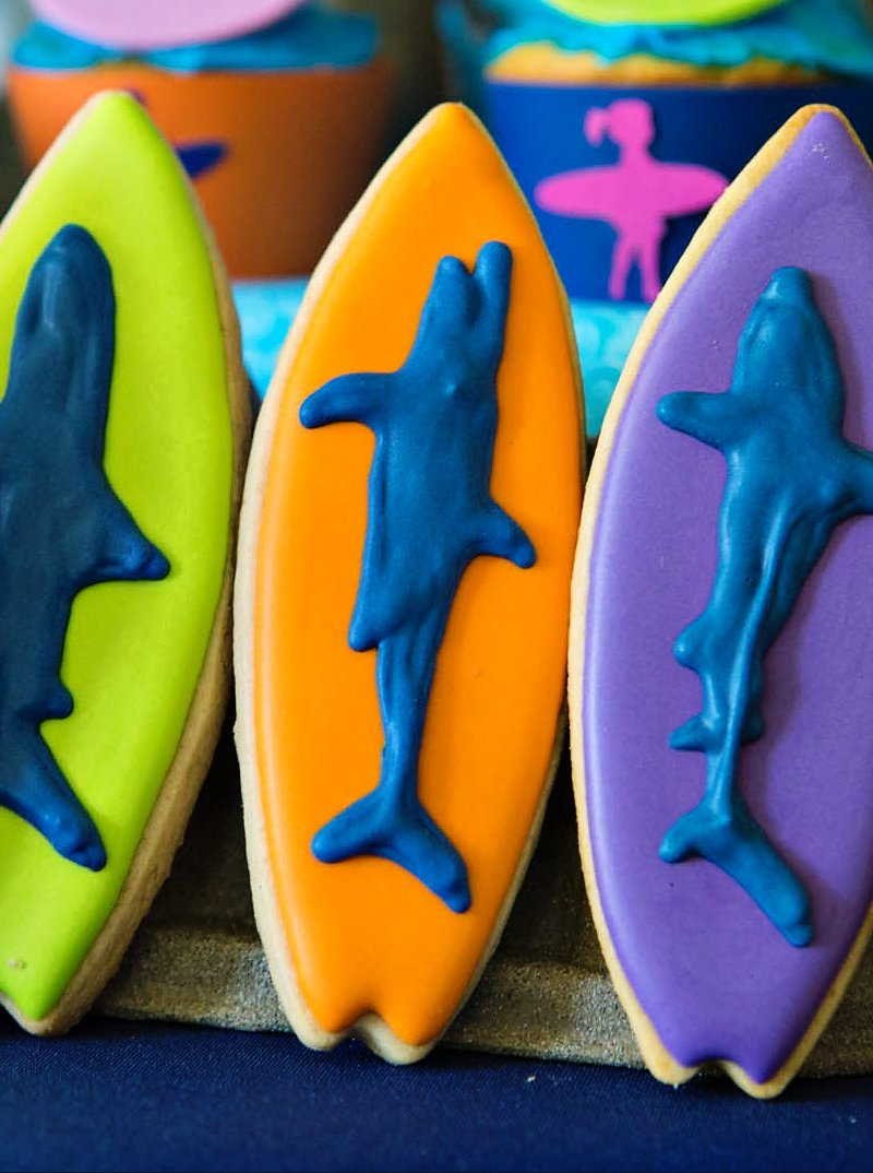 shark twins birthday party
