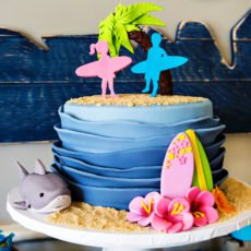shark twins birthday party