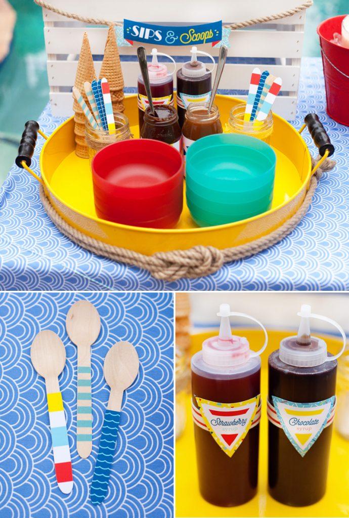 ice cream sundae bar ideas