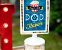 free printable movie night popcorn sign