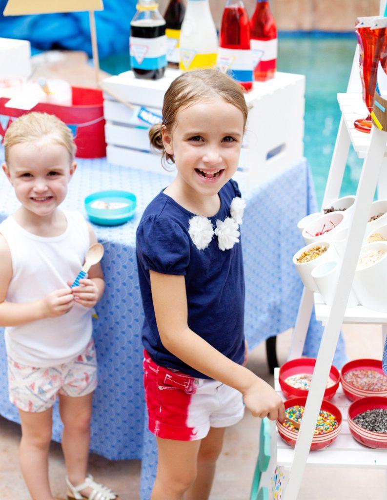 nautical ice cream party