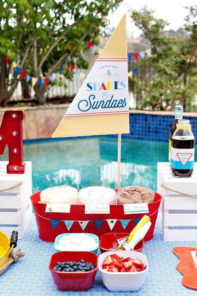 diy ice cream sailboat