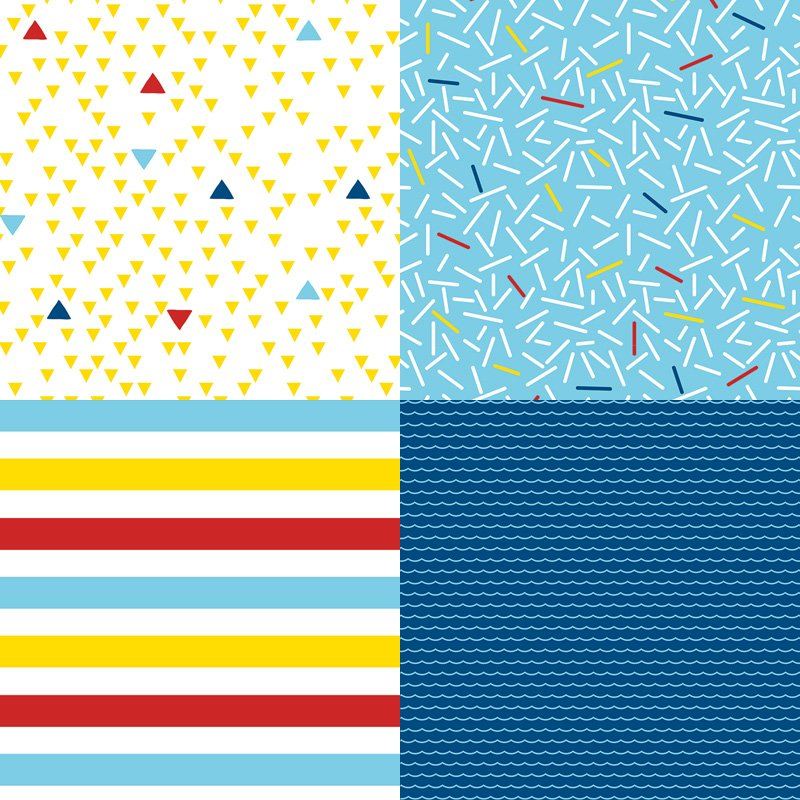 printable nautical patterns