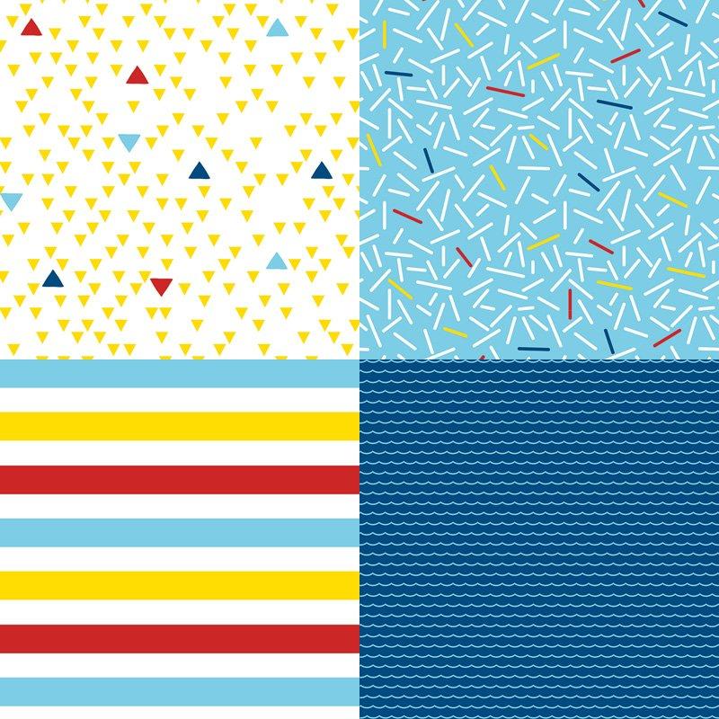 printable nautical patterns