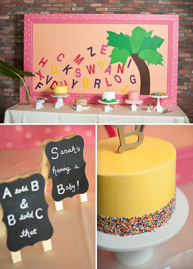 Playful Chicka Chicka Boom Boom Book Baby Shower Hostess With