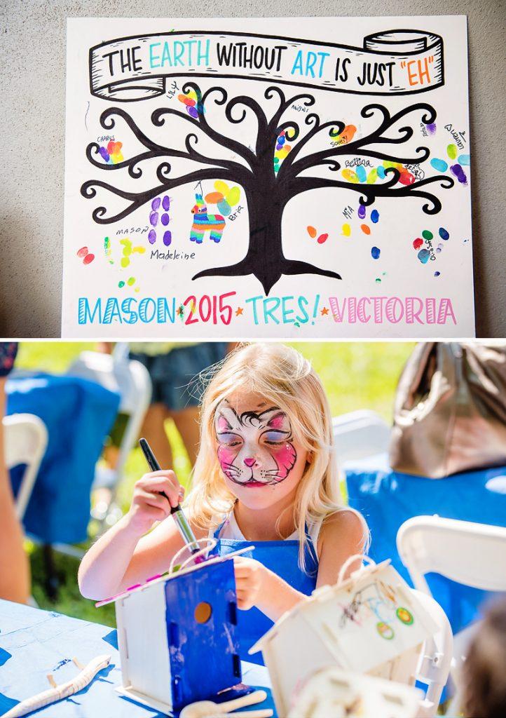 fiesta art party