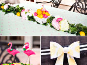 flamingo and lemon theme party
