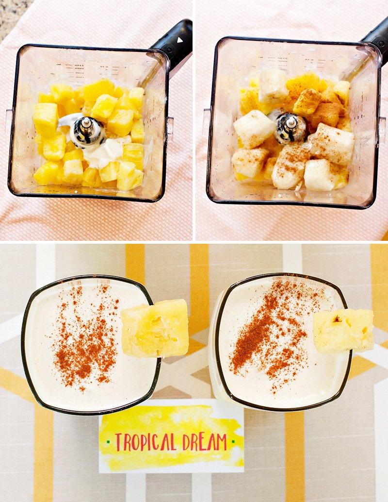 tropical dream milkshake