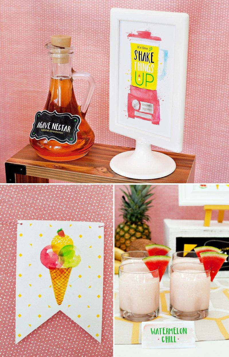 fruity ice cream bar