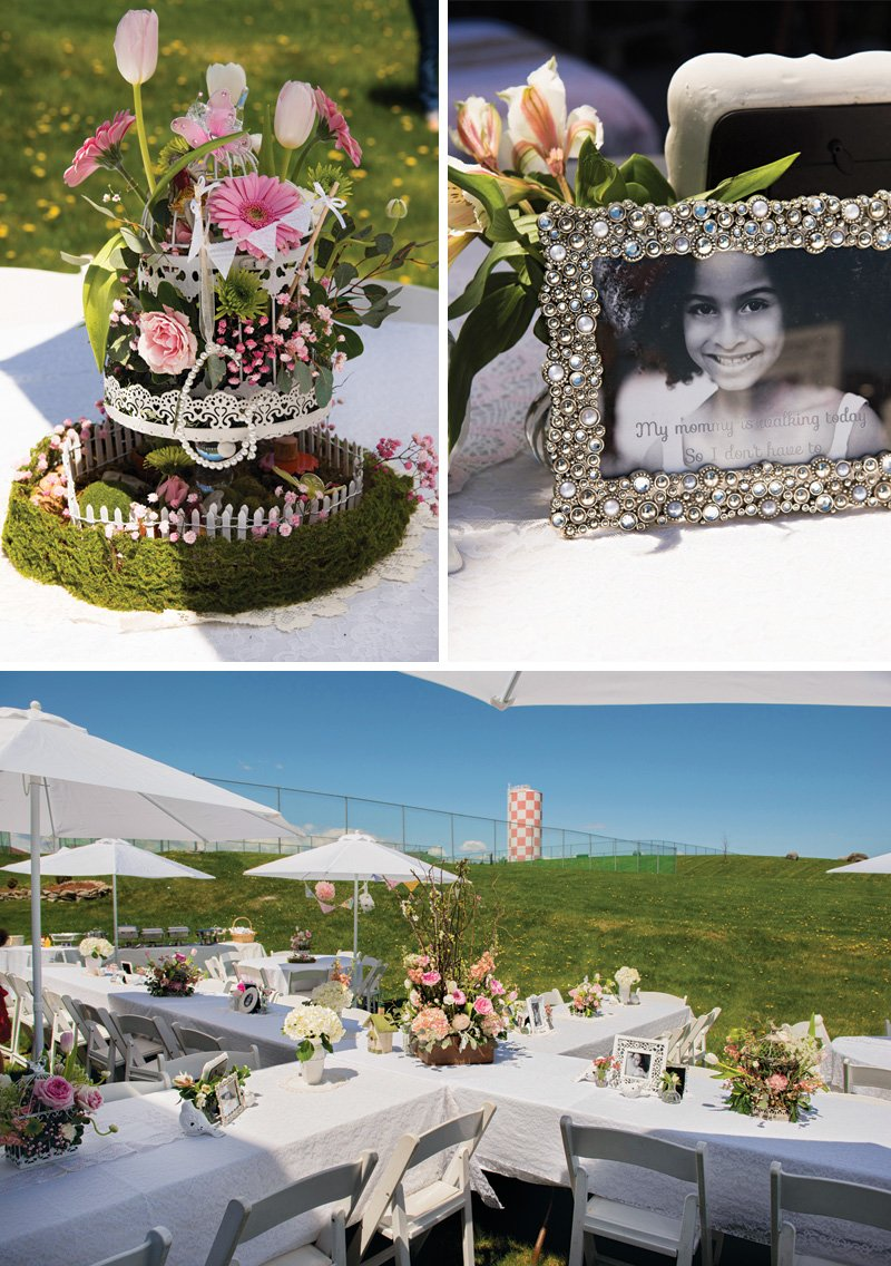 Beautiful Shabby Chic First Communion Brunch Hostess With