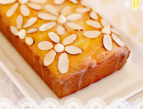 Lovely Lemon-Almond Pound Cake