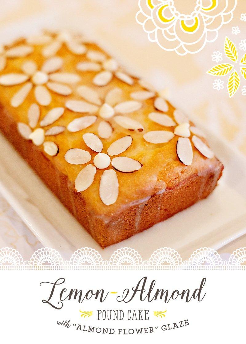 Lemon Almond Pound Cake Recipe