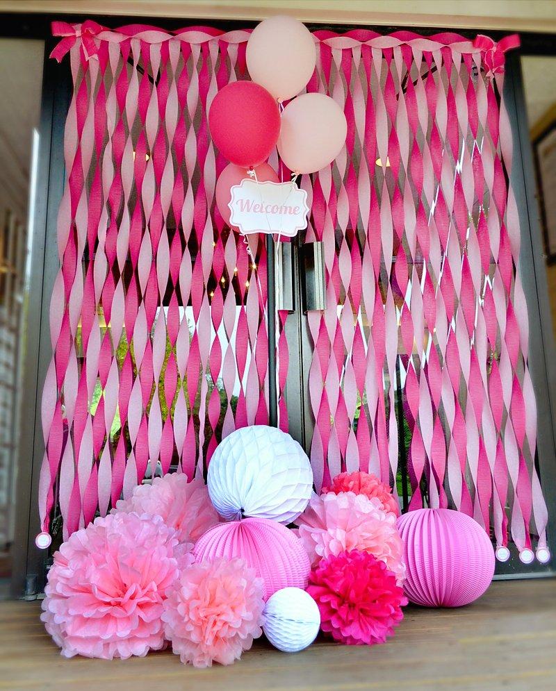 tickled pink baby shower