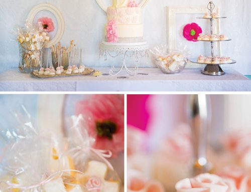 Beautiful Shabby Chic First Communion Brunch