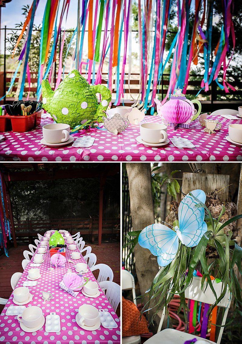 alice in wonderland party painting activity