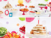 animal cookie themed birthday party