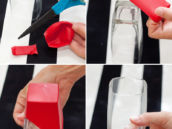 Balloon Dipped Glasses - DIY Tutorial