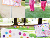 DIY birthday party circus game ideas
