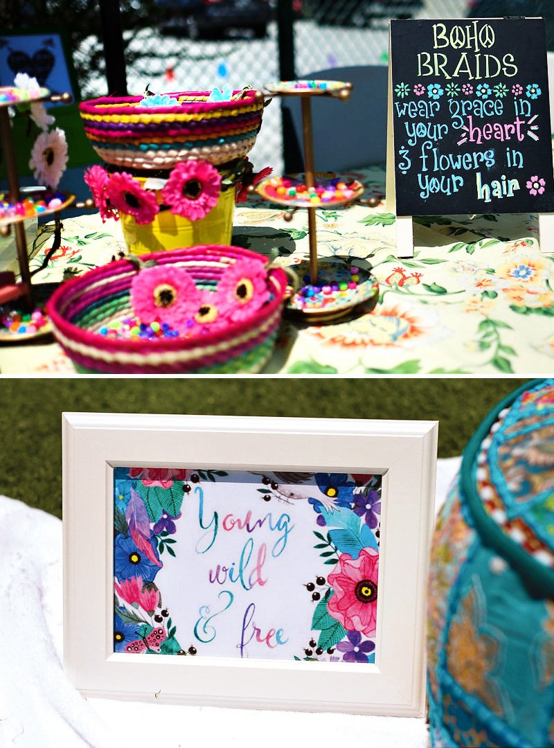 Cool Coachella Inspired First Birthday Party Hostess With The