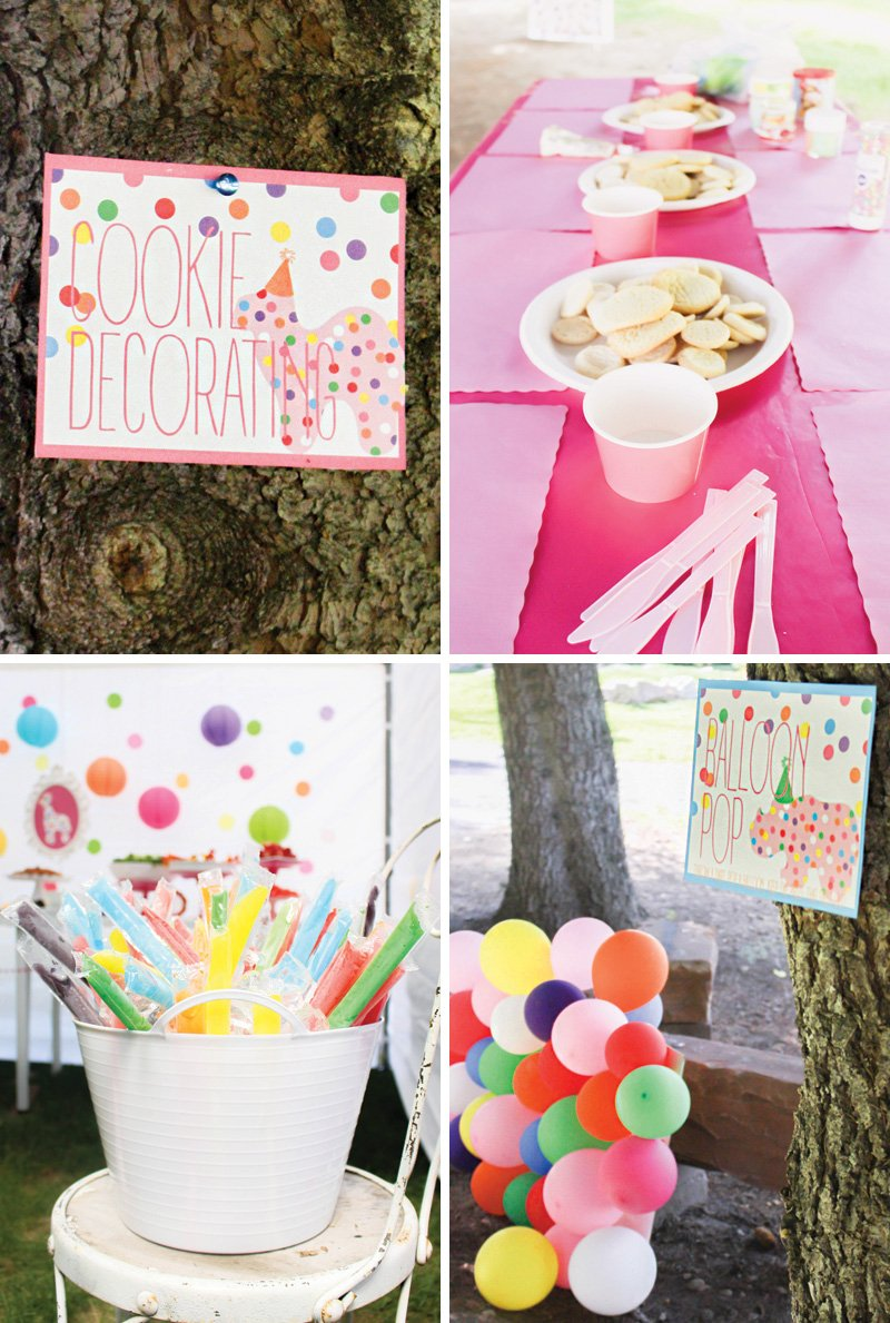 DIY circus birthday party games