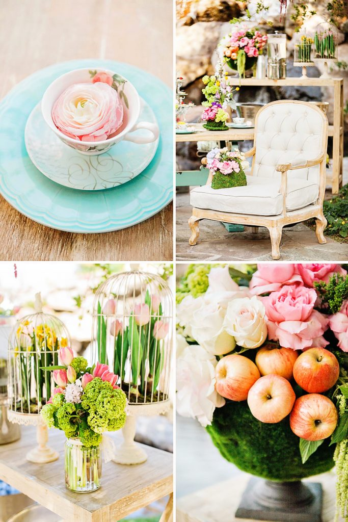 mother daughter garden tea party