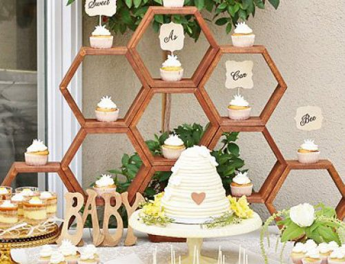 Charming Mother-To-Bee Baby Shower {Vintage Style}