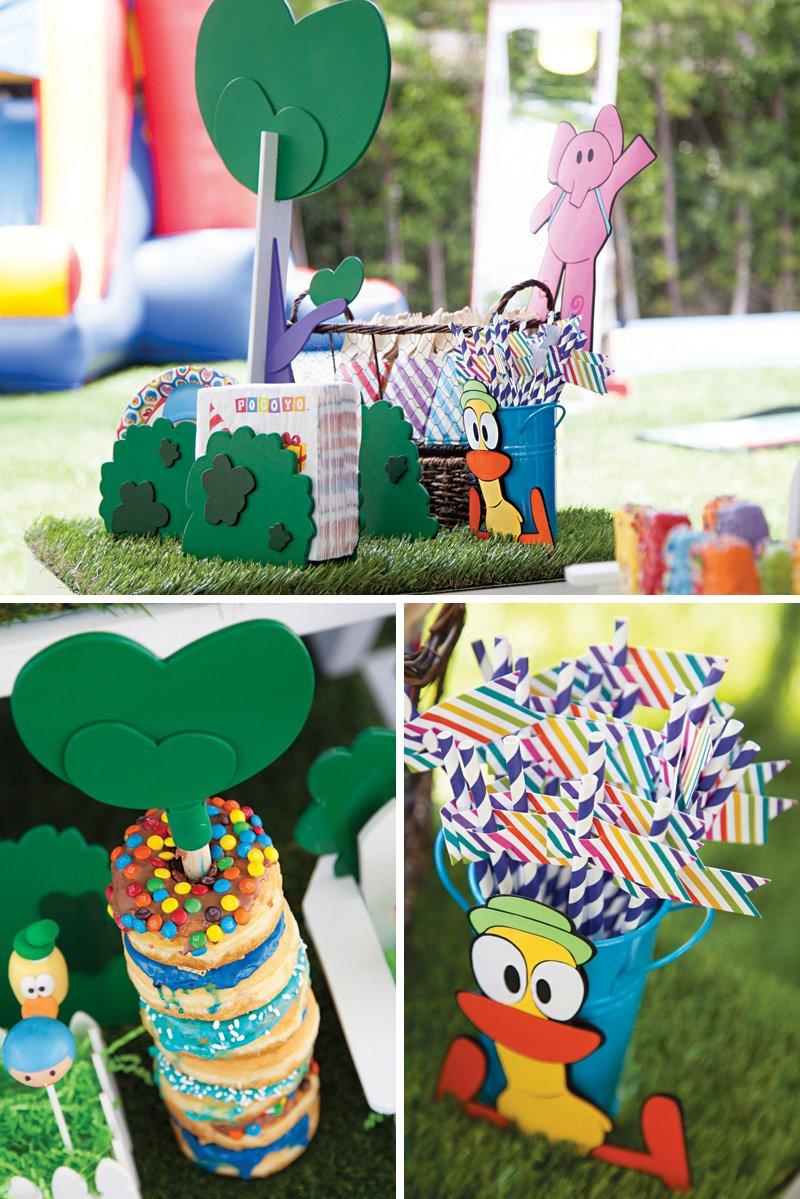 pocoyo birthday party characters