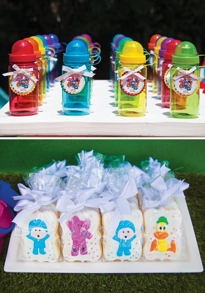 Pocoyo Birthday Party Favors