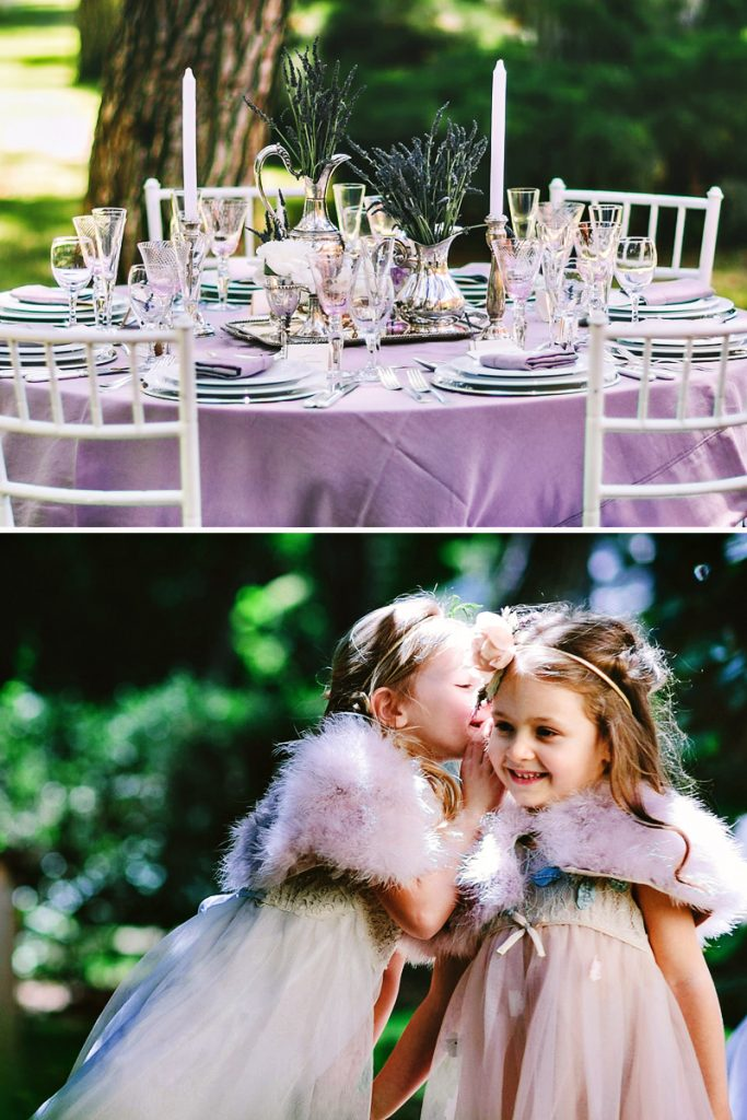 rustic lavender wedding ideas
