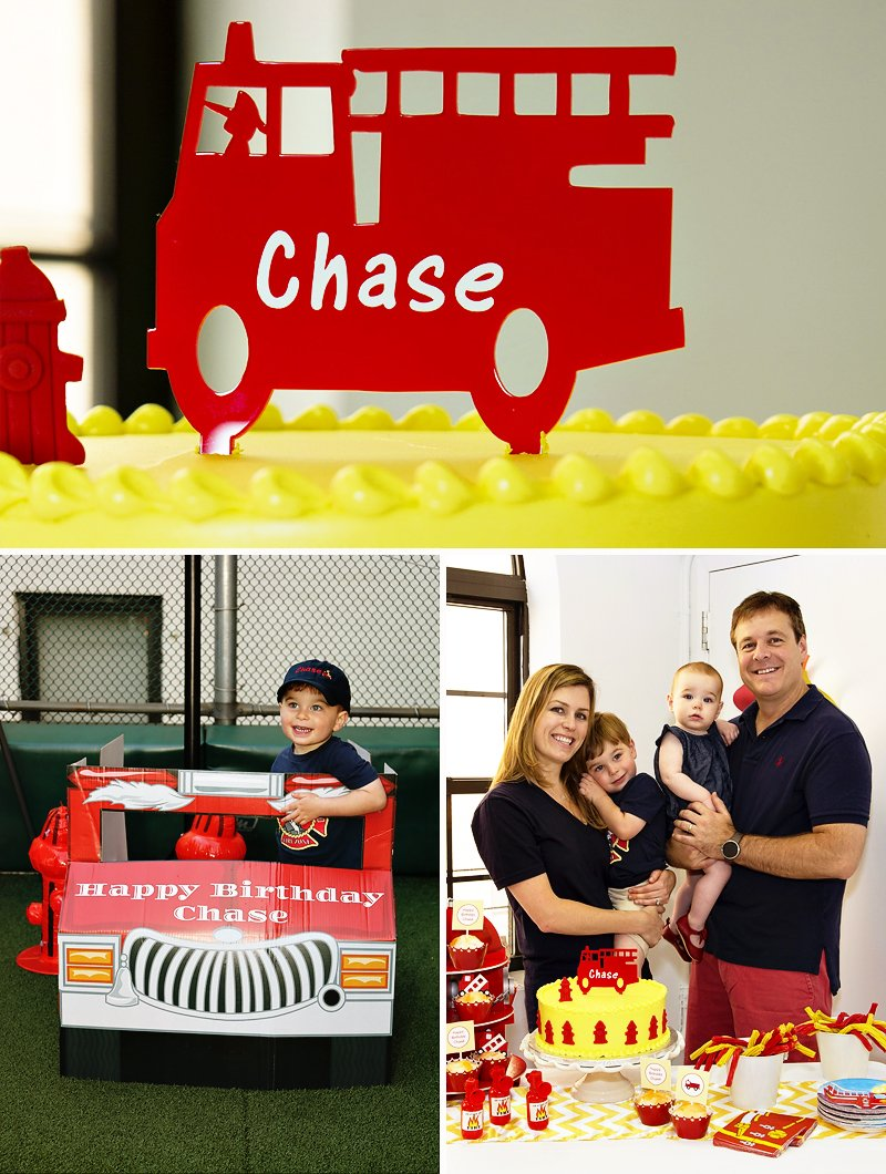 Firefighter Cupcake Decorations Red Yellow Rad Fireman 3rd Birthday Party Hostess With The