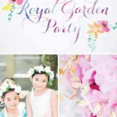 royal princess garden birthday party