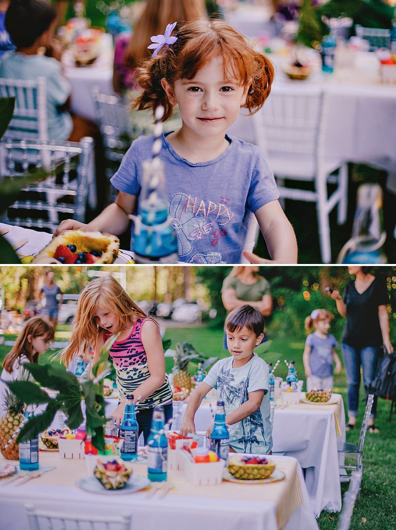 summer kids party - kids having fun