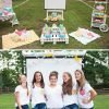 teen girl's movie birthday party