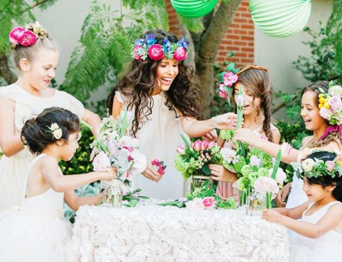 Magical Mother-Daughter Garden Tea Party