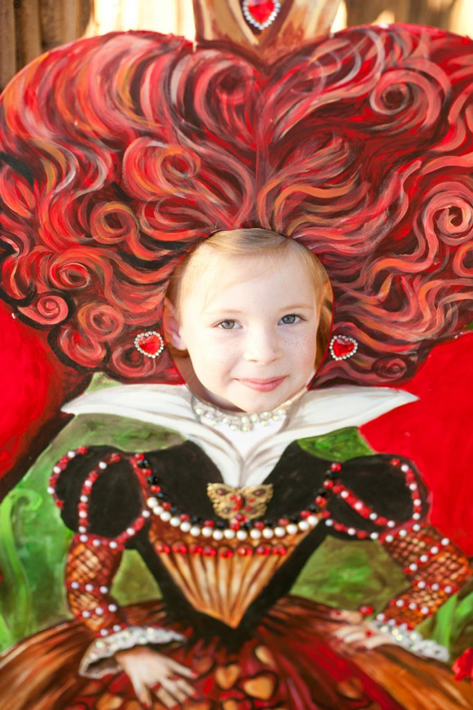 Alice in Wonderland Red Queen Photo Booth