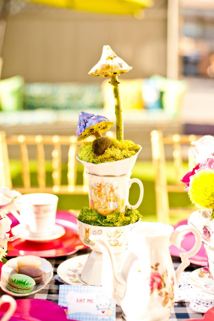 Alice in Wonderland Table Centerpiece
