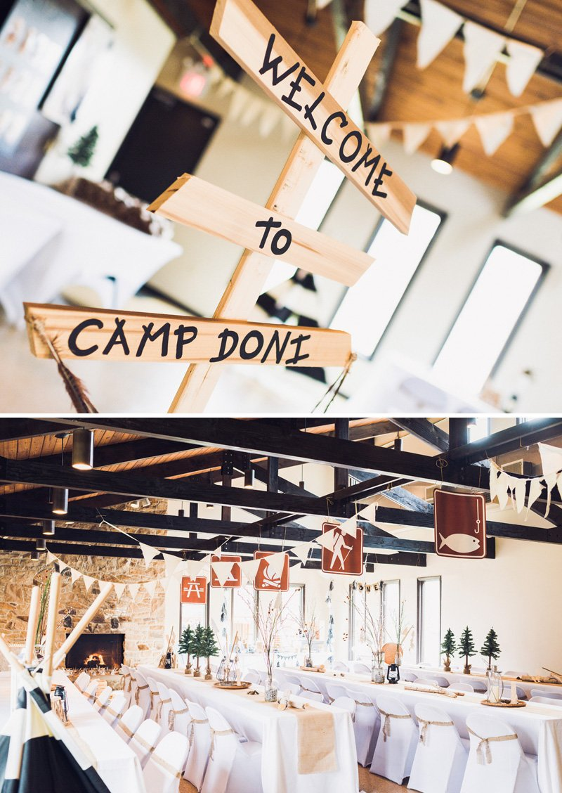 Camping Theme Party Ideas ~ Southern Blue Celebrationss