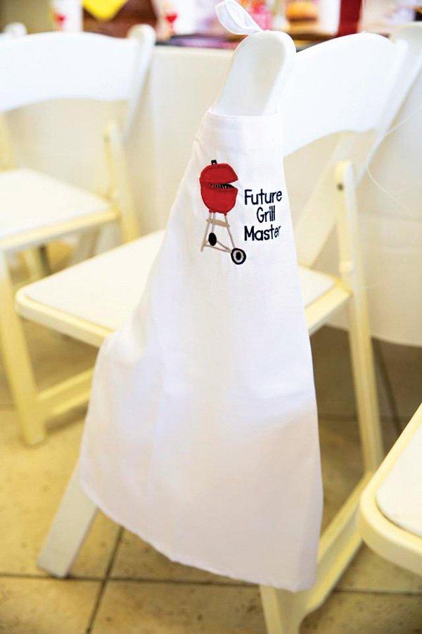 custom kids bbq grilling apron