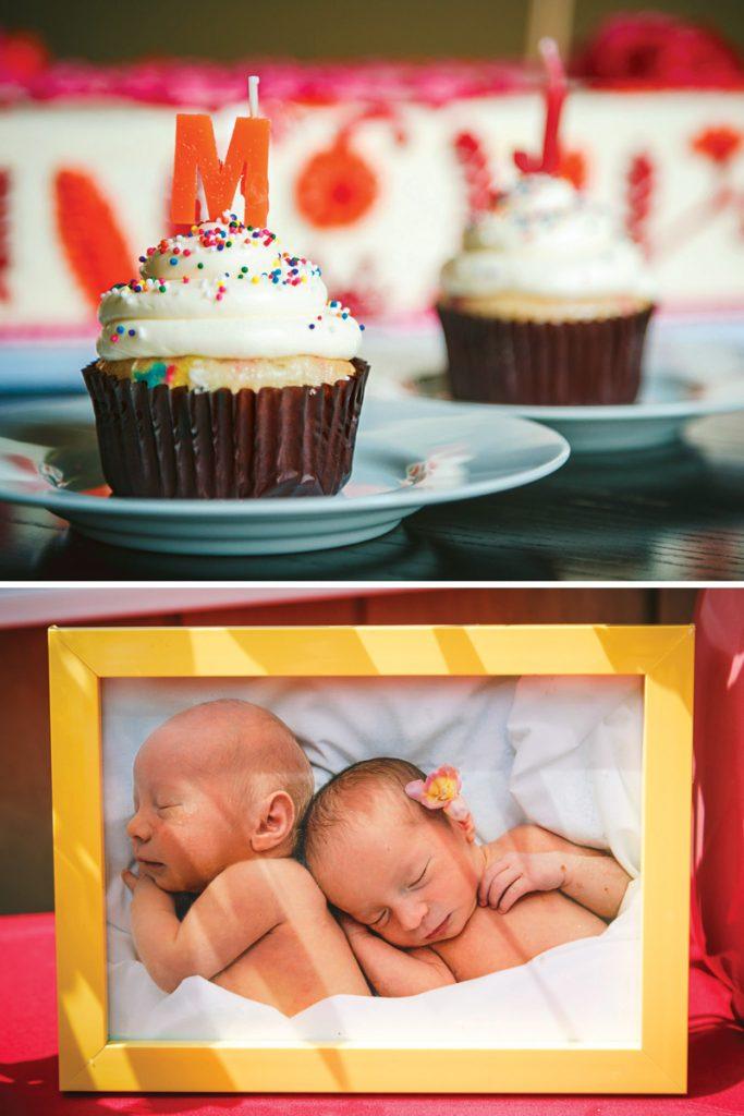 first birthday smash cupcakes