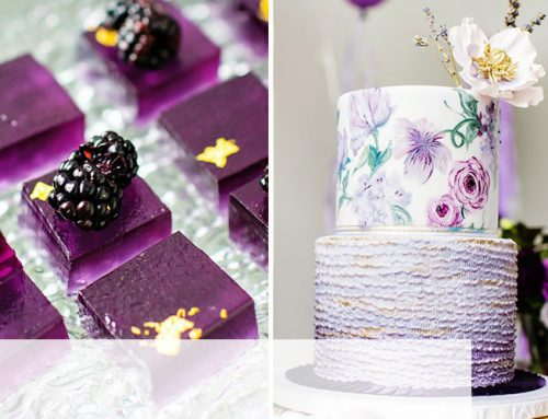 Glam Garden Inspired Ombre Purple Party {Adult Birthday}