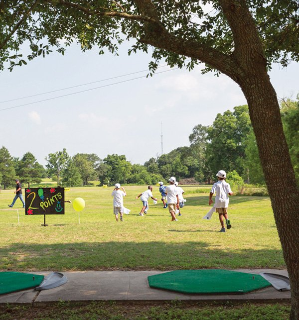 golf birthday party activities and games
