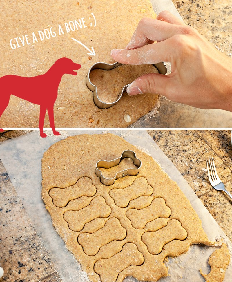 Homemade Dog Biscuits Step 1