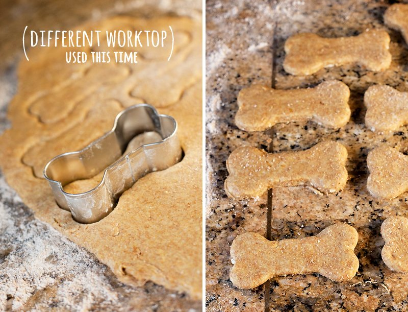 Homemade Dog Biscuits - Dog Bone Cookie Cutter