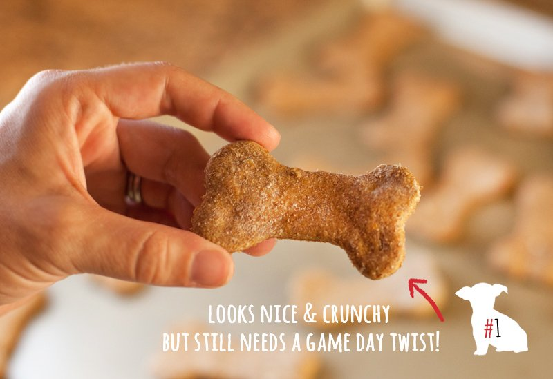 Homemade Dog Biscuits - Baked