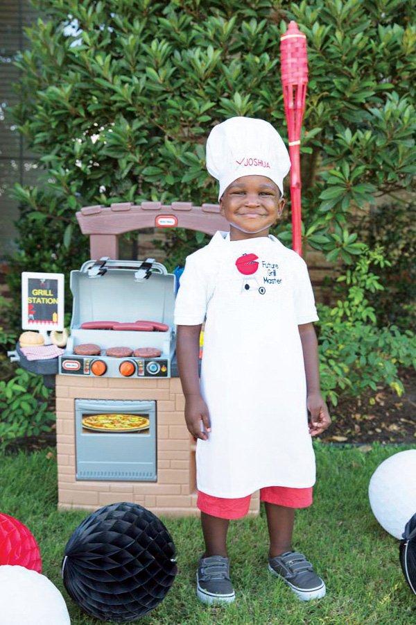 kids backyard toy grill