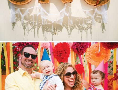 Colorful Fiesta & Travel Themed First Birthday for Twins